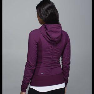 Lululemon In Flex Purple Jacket